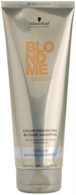 Schwarzkopf Professional Blondme stärkendes Shampoo für kalte Blondtöne