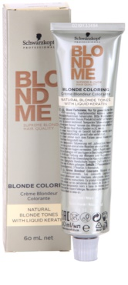 Schwarzkopf Professional Blondme Color barva za lase za naravne blond odtenke