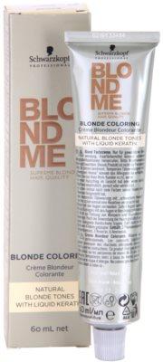 Schwarzkopf Professional Blondme Color Haarfarbe für natürlich blondes Haar