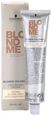 Schwarzkopf Professional Blondme Color hajfesték a természetes szőke árnyalatokra