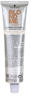Schwarzkopf Professional Blondme Color боя за коса за естествено рус цвят 1