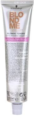 Schwarzkopf Professional Blondme Color tonirana krema 1