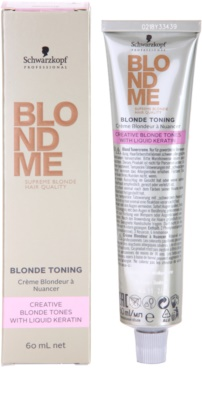 Schwarzkopf Professional Blondme Color tonizáló krém 2