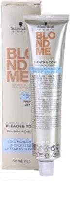 Schwarzkopf Professional Blondme Color Tönungscreme für kalte Blond-Nuancen