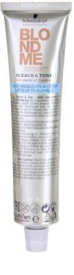 Schwarzkopf Professional Blondme Color creme com cor para tons loiros frios de cabelo 2