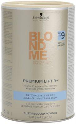 Schwarzkopf Professional Blondme Color prémiový zesvětlující 9+ pudr se sníženou prašností