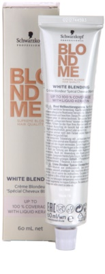 Schwarzkopf Professional Blondme Color crema cubre imperfecciones