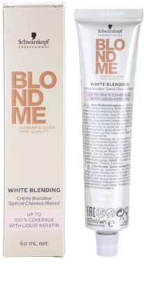 Schwarzkopf Professional Blondme Color crema cubre imperfecciones 1