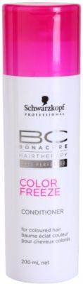 Schwarzkopf Professional BC Bonacure Color Freeze balsam pentru protecția culorii