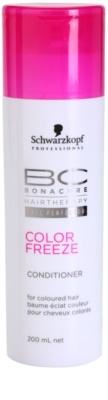 Schwarzkopf Professional BC Bonacure Color Freeze kondicionáló a szín védelméért