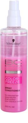 Schwarzkopf Professional BC Bonacure Color Freeze Conditioner im Spray zum Schutz der Farbe 1