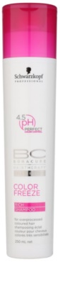 Schwarzkopf Professional BC Bonacure Color Freeze Shampoo zum Schutz der Farbe