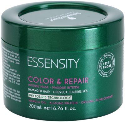 Schwarzkopf Professional Essensity Color & Repair intenzív maszk a károsult hajra