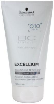Schwarzkopf Professional BC Bonacure Excellium Beautifying Tratament de înfrumusețare pentru păr gri și alb