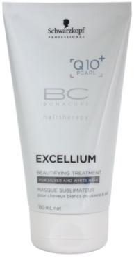 Schwarzkopf Professional BC Bonacure Excellium Beautifying verschönernde Pflege für graue und weiße Haare