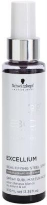 Schwarzkopf Professional BC Bonacure Excellium Beautifying Metál pigment spray fehér és ez´¨ust hajszín élénkítésére
