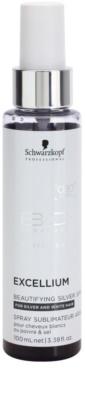 Schwarzkopf Professional BC Bonacure Excellium Beautifying Pigmentos de prata para cabelos brancos e prateados