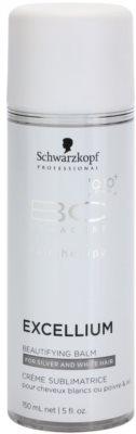 Schwarzkopf Professional BC Bonacure Excellium Beautifying незмивний бальзам для сивого та блонд волосся