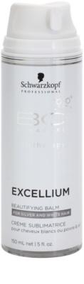 Schwarzkopf Professional BC Bonacure Excellium Beautifying lepotni balzam brez spiranja za sive in bele lase 1