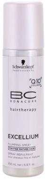 Schwarzkopf Professional BC Bonacure Excellium Plumping spülfreier Conditioner im Spray für feines und gereiftes Haar