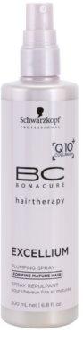 Schwarzkopf Professional BC Bonacure Excellium Plumping acondicionador en spray sin enjuague para cabello fino maduro 1