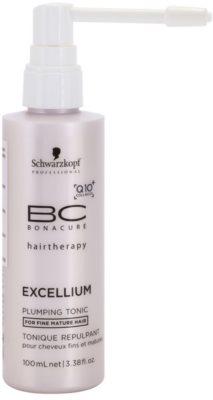 Schwarzkopf Professional BC Bonacure Excellium Plumping tónico suave para cabello fino maduro