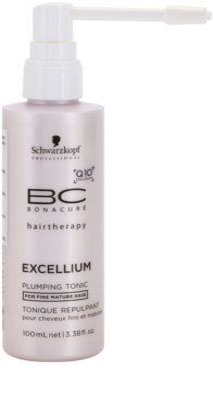 Schwarzkopf Professional BC Bonacure Excellium Plumping tonik do włosów delikatnych, dojrzałych