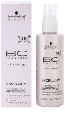 Schwarzkopf Professional BC Bonacure Excellium Plumping tonik do włosów delikatnych, dojrzałych 2