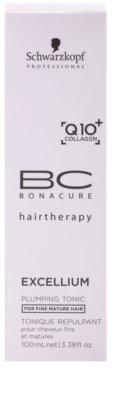 Schwarzkopf Professional BC Bonacure Excellium Plumping tonik do włosów delikatnych, dojrzałych 3