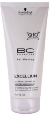 Schwarzkopf Professional BC Bonacure Excellium Plumping champô  para cabelos maduros e  finos