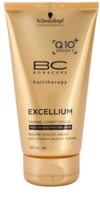 Schwarzkopf Professional BC Bonacure Excellium Taming balsam pentru păr des si aspru