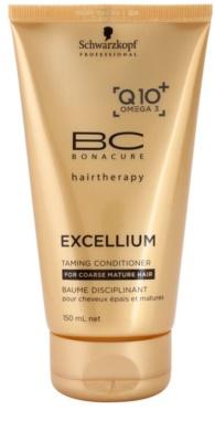 Schwarzkopf Professional BC Bonacure Excellium Taming condicionador para cabelos maduras e oleosos