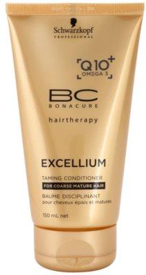 Schwarzkopf Professional BC Bonacure Excellium Taming odżywka do włosów grubych, dojrzałych