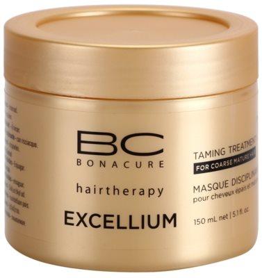 Schwarzkopf Professional BC Bonacure Excellium Taming маска для грубого зрілого волосся