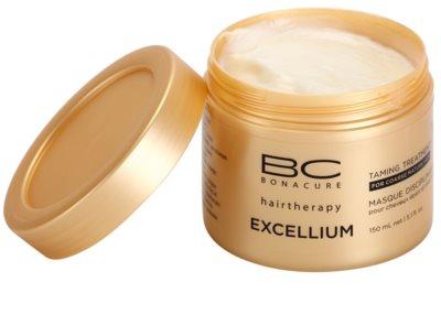 Schwarzkopf Professional BC Bonacure Excellium Taming mascarilla para cabello maduro y áspero 1