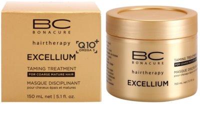 Schwarzkopf Professional BC Bonacure Excellium Taming mascarilla para cabello maduro y áspero 2