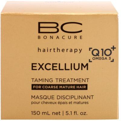 Schwarzkopf Professional BC Bonacure Excellium Taming mascarilla para cabello maduro y áspero 3