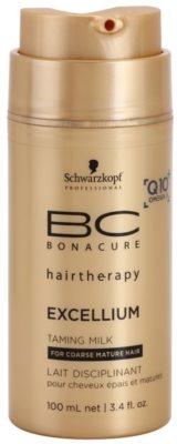 Schwarzkopf Professional BC Bonacure Excellium Taming изглаждащо мляко за топлинно третиране на косата