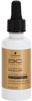 Schwarzkopf Professional BC Bonacure Excellium Taming sérum para couro cabeludo seco