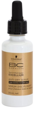 Schwarzkopf Professional BC Bonacure Excellium Taming szérum a száraz fejbőrre