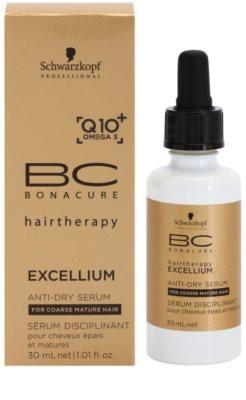 Schwarzkopf Professional BC Bonacure Excellium Taming sérum para couro cabeludo seco 1