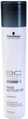 Schwarzkopf Professional BC Bonacure Hair Activator aktiváló sampon a ritkuló hajra