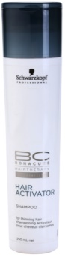 Schwarzkopf Professional BC Bonacure Hair Activator активиращ шампоан за разредена коса