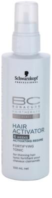 Schwarzkopf Professional BC Bonacure Hair Activator tónico fortalecedor fortalecimiento y crecimiento para el cabello