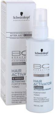 Schwarzkopf Professional BC Bonacure Hair Activator tónico fortalecedor fortalecimiento y crecimiento para el cabello 2