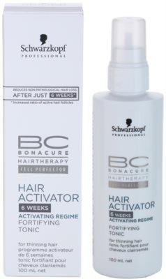 Schwarzkopf Professional BC Bonacure Hair Activator tónico fortalecedor fortalecimiento y crecimiento para el cabello 3