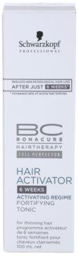 Schwarzkopf Professional BC Bonacure Hair Activator tónico fortalecedor fortalecimiento y crecimiento para el cabello 4