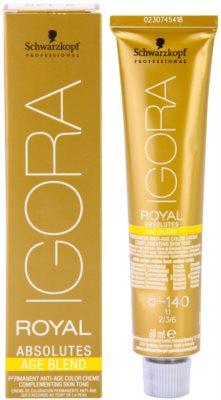 Schwarzkopf Professional IGORA Royal Absolutes Age Blend coloração de cabelo