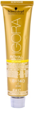 Schwarzkopf Professional IGORA Royal Absolutes Age Blend боя за коса 1