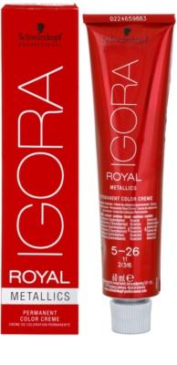 Schwarzkopf Professional IGORA Royal Mettalics tinte de pelo